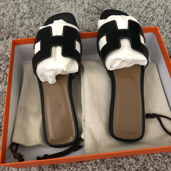 246135823419 Hermes Shoes | Brand New Herms Oran Sandals | Poshmark